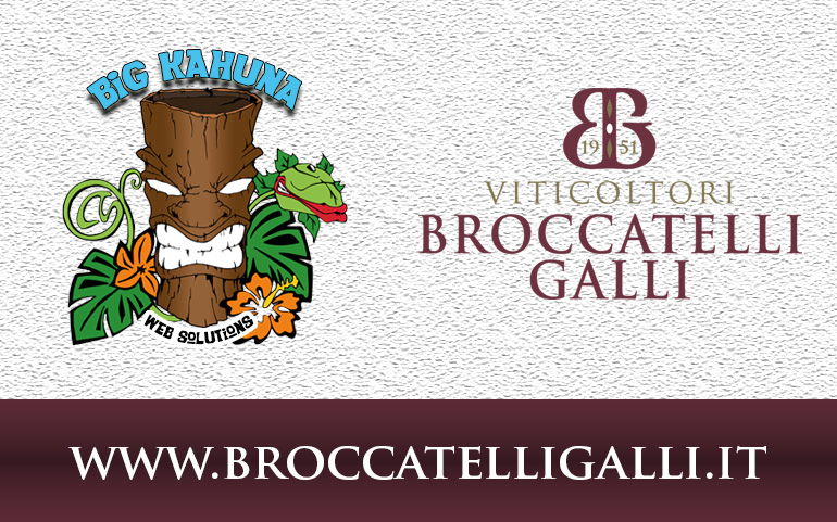 Our new webiste BroccatelliGalli.it is online!